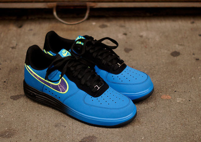 "Kevin Durant x Nike Lunar Force 1 Low ""Lightning"" Trapped"