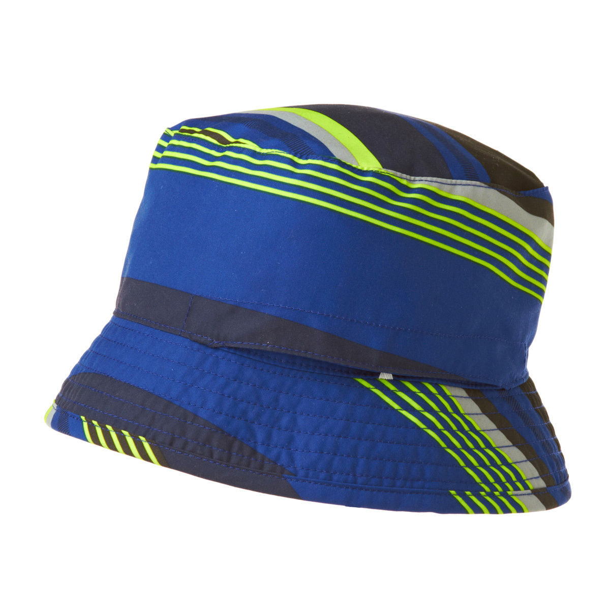 the-north-face-hats-the-north-face-youth-sun-stash-hat-honor-blue-stripe