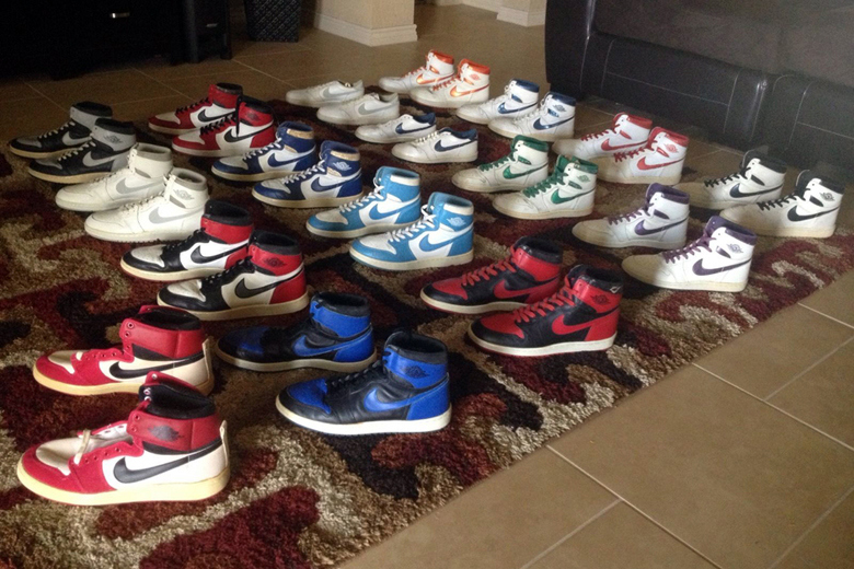 bf4b3d4cda317 A Collection of Original Air Jordan 1s from 1985 is Up For Sale