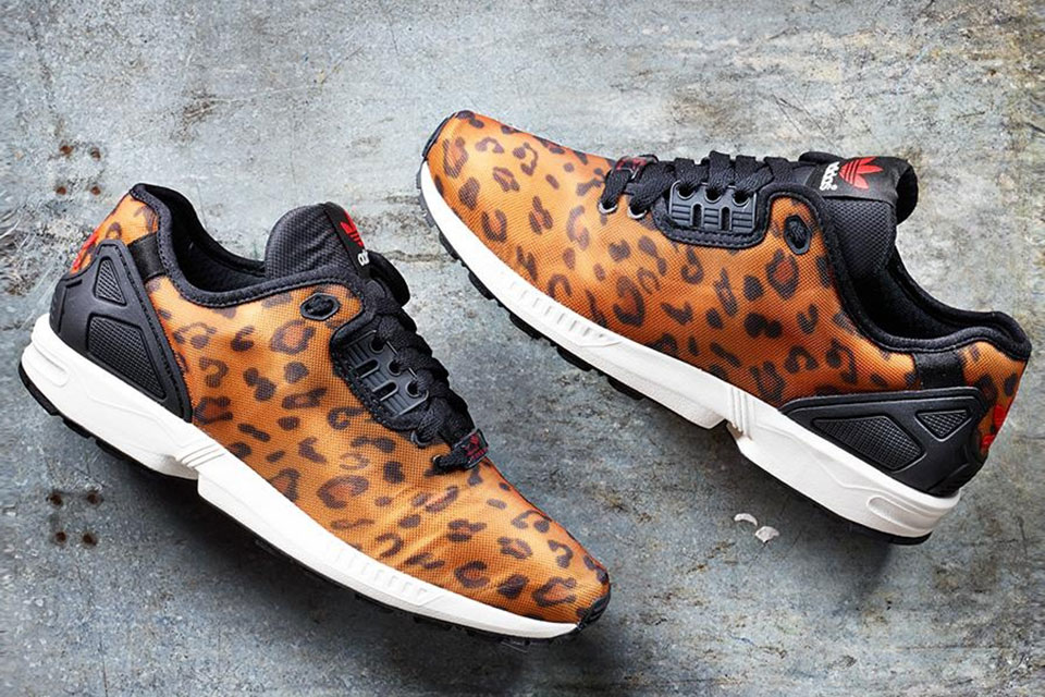 """9278a7a89a7b6 adidas Originals ZX Flux Decon """"Leopard"""". POSTED BY Mr Trapped Magazine ..."""