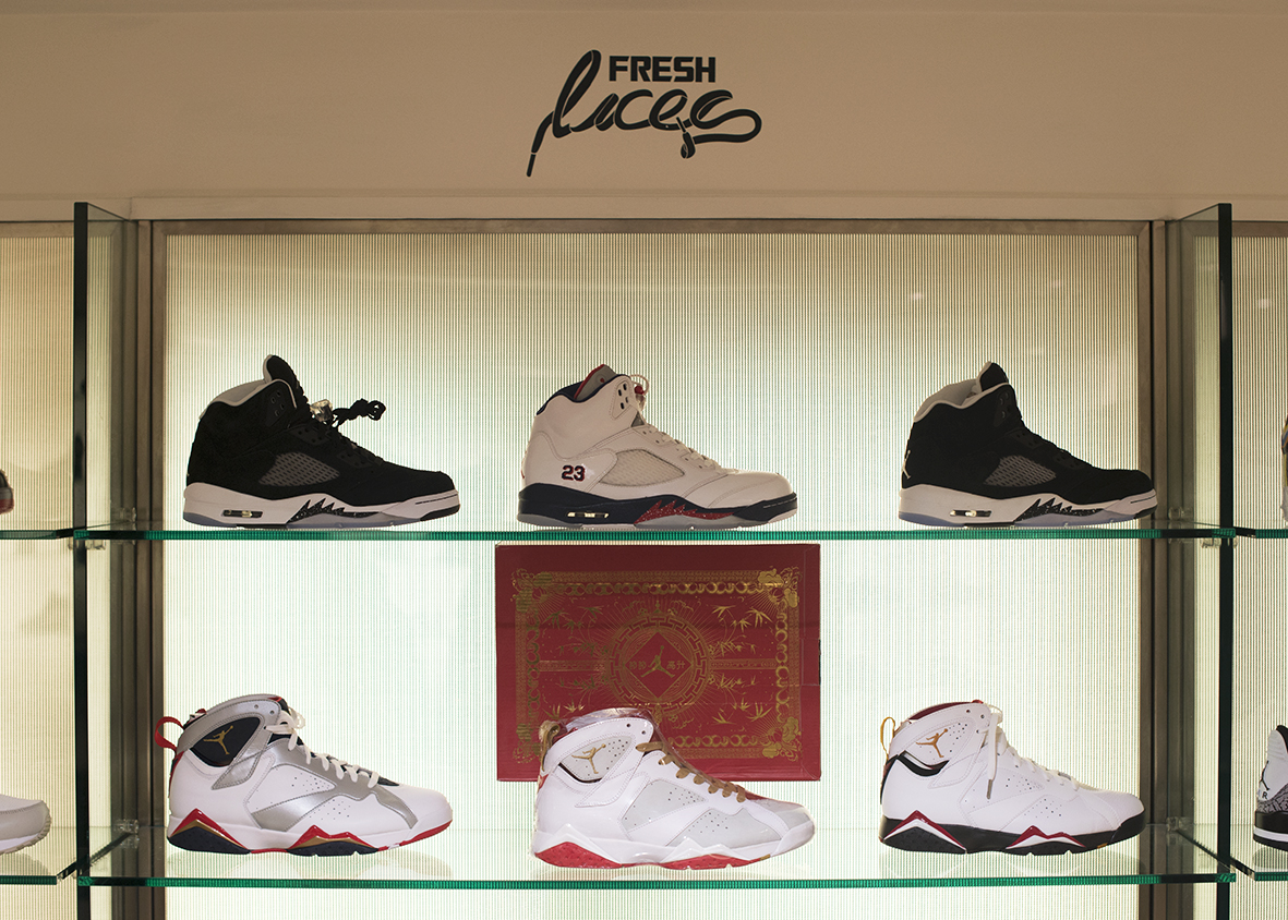 2bc31d5294f FRESH LACES X HARVEY NICHOLS SNEAKER BOUTIQUE ( THE PICS ) - Trapped ...
