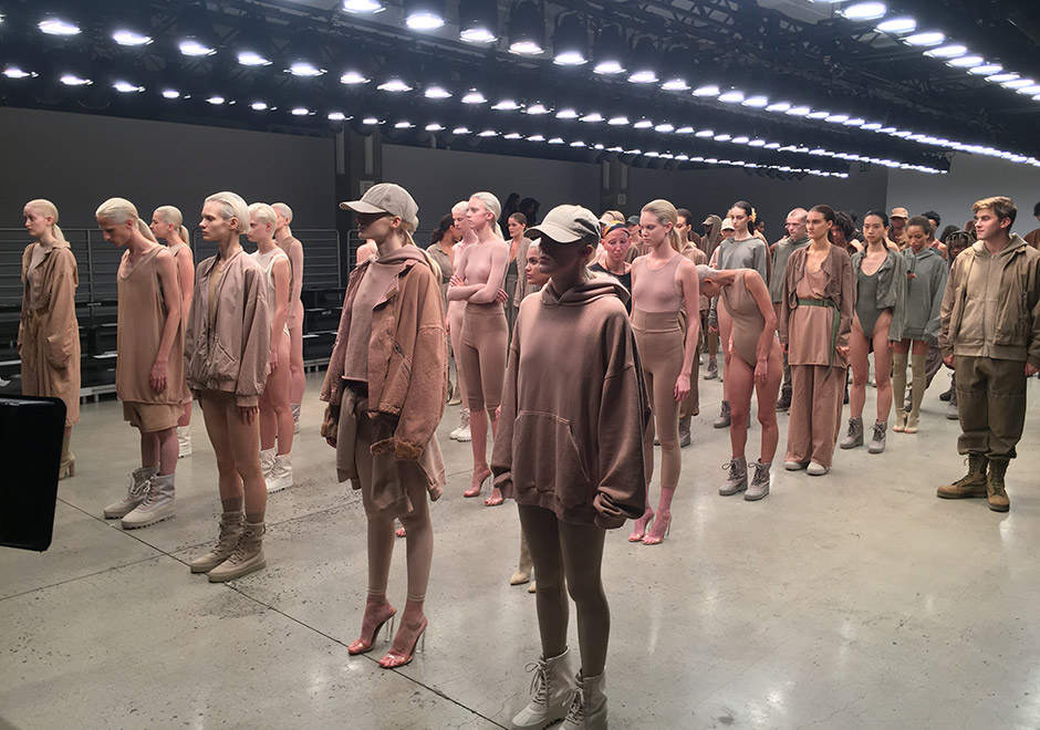 2a2353c4fa2 SNEAKERNEWS GOT BEHIND THE SCENES AT THE YEEZY SEASON TWO SHOW