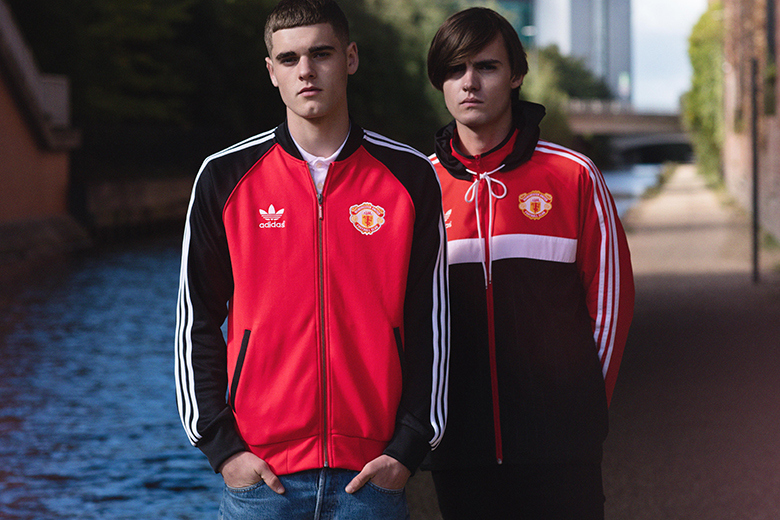 Manchester United X Adidas Originals 2015 Apparel Collection Trapped Magazine