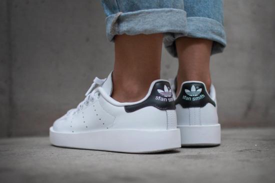 2dec5cd09b80 adidas Originals  Stan Smith Gets a Lift With Platform Shoe ...