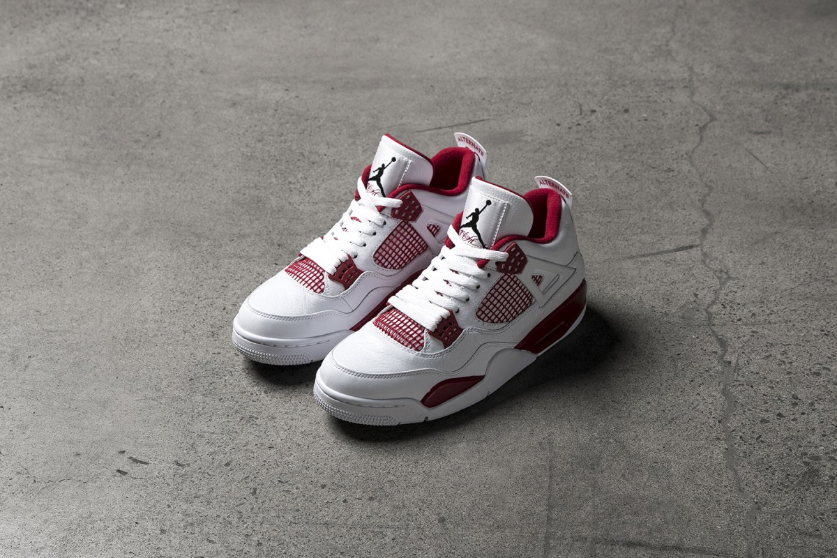 new styles 94a64 a5f22 Taking a Look at the Air Jordan 4 Retro  Alternate 89