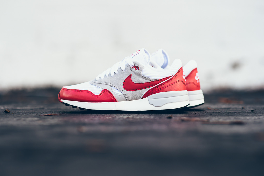 3b2f9c74de5 Nike Air Odyssey Gets OG White University Red Treatment - Trapped ...
