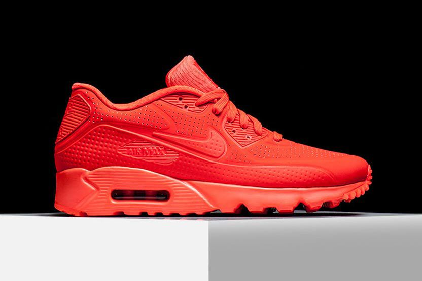 "reputable site 9ec27 c9d78 Nike Air Max 90 Ultra Moire ""Bright Crimson"""