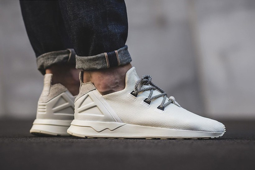 big sale 0e7f8 d267b New adidas Originals ZX Flux ADV Tops off With Yeezy Laces - Trapped ...