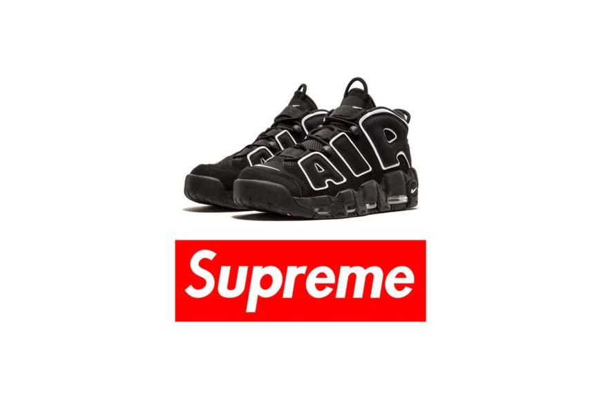 Supreme x Nike Uptempo