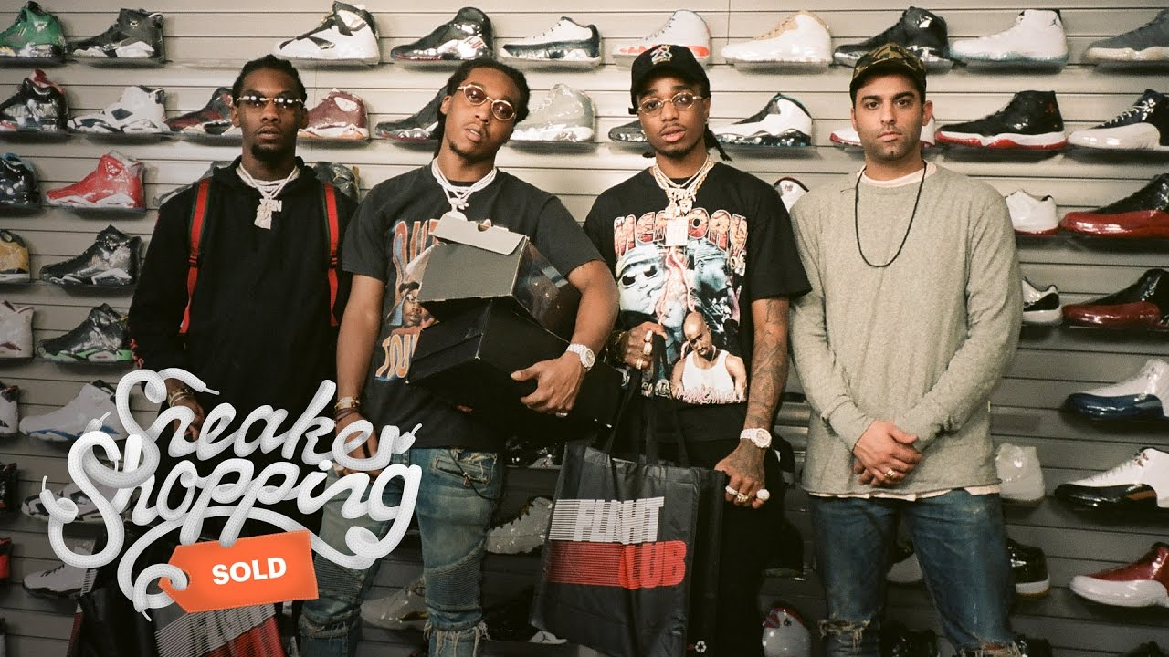 Sneaker Shopping With Migos Trapped Magazine