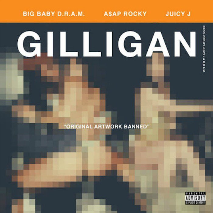 dram, asap rocky, juicy j, gilligan
