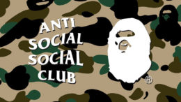 bape, anti social social club, assc