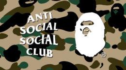 bape, anti social social club, assc
