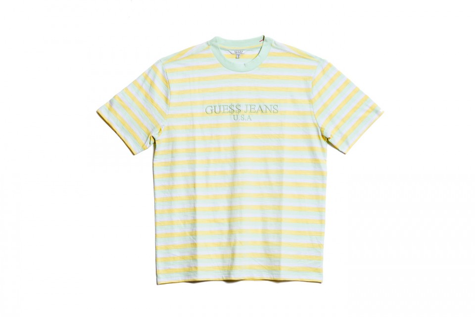 """555c25a3fb56 The ASAP Rocky x Guess Originals """"Ice Cream and Cotton Candy"""" summer  capsule arrives on May 2 at select Guess stores and other leading retailers  globally."""