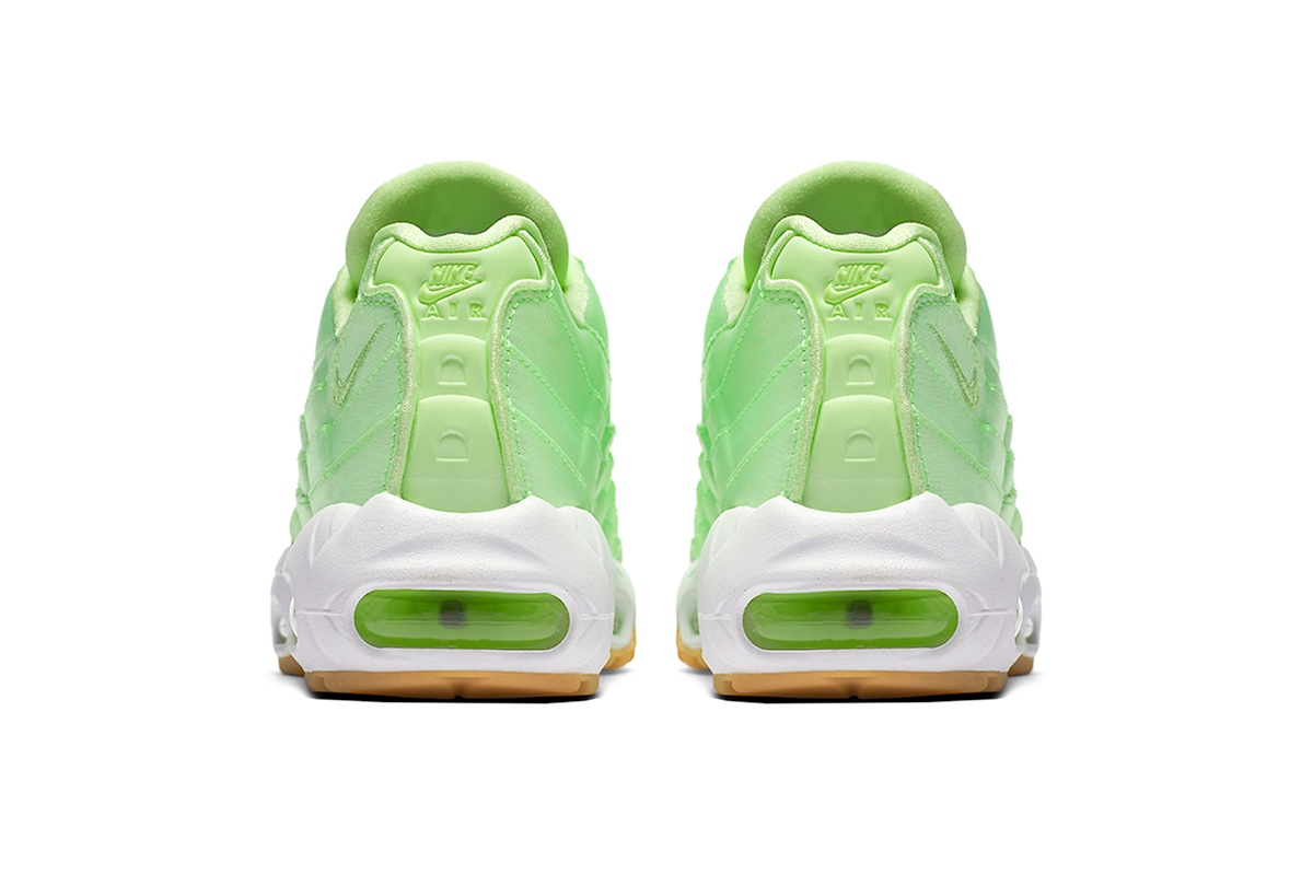 wholesale dealer 6d7c3 bae2c 2dff5 c8be5; free shipping the nike air max 95 liquid lime is a womens  exclusive trapped magazine 6567f