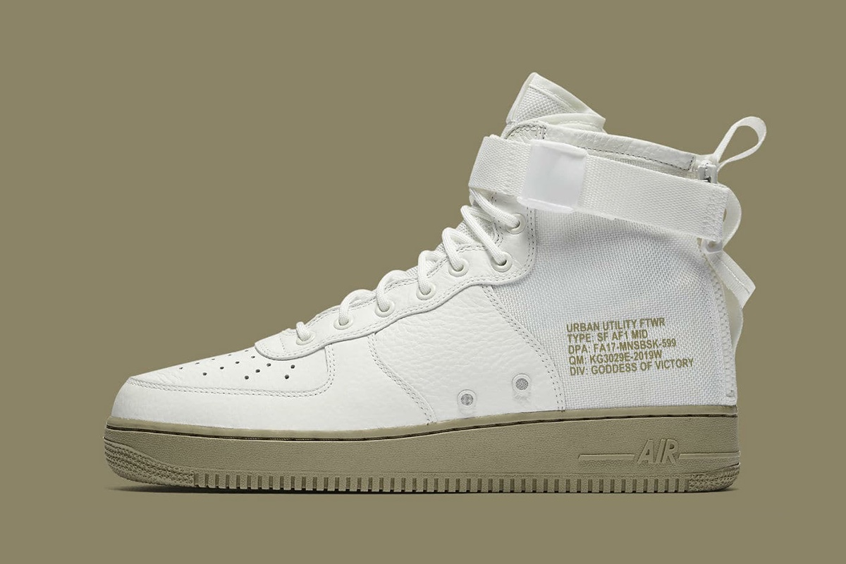 nike air force 1 mid bianche