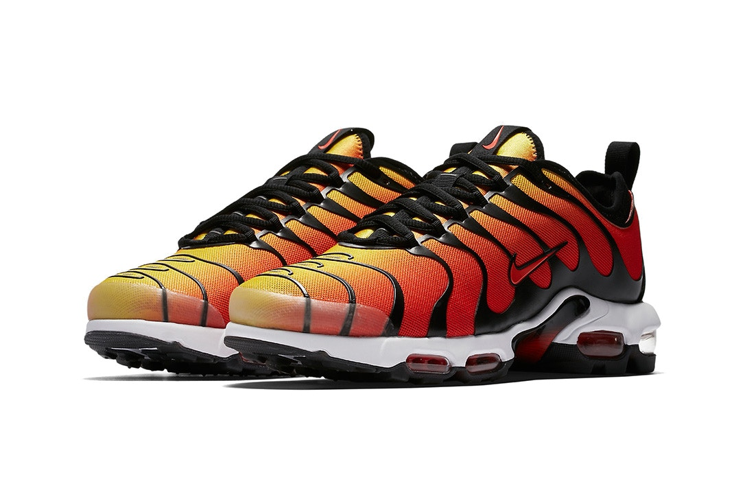 nike air max plus tn ultra drops in tiger trapped magazine. Black Bedroom Furniture Sets. Home Design Ideas