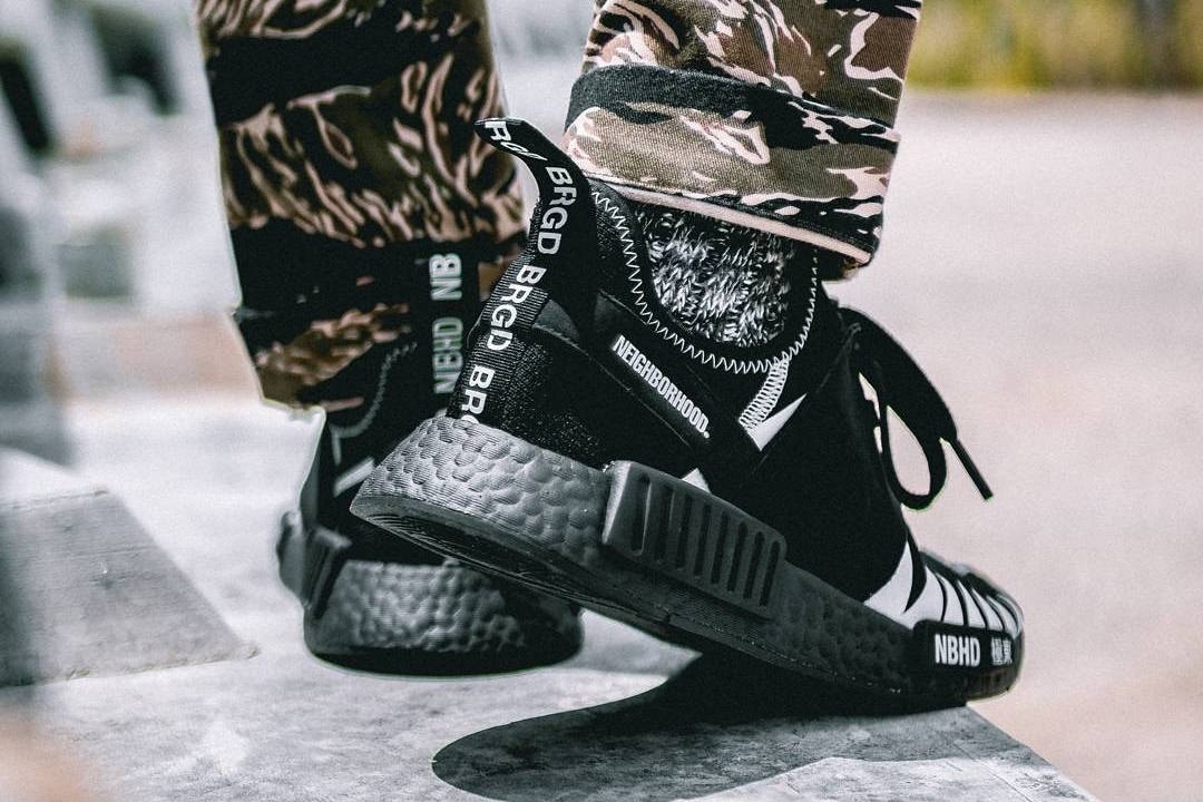 new style 64ed9 5e9f0 Another Look At The Neighbourhood x Adidas NMD R1 - Trapped ...