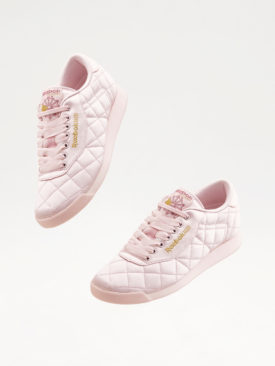ASOS WHITE x Reebok Princess Trainers In Quilted Satin £70.00 NOV_