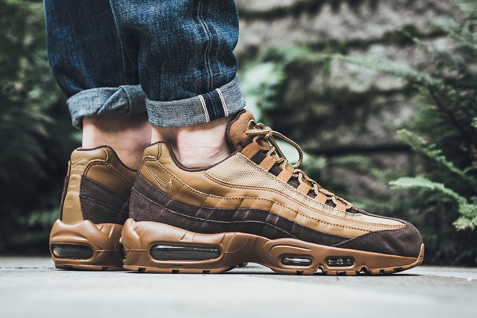 "timeless design 28c39 bac71 The Nike Air Max 95 Premium Welcomes Autumn With ""Baroque Brown ..."