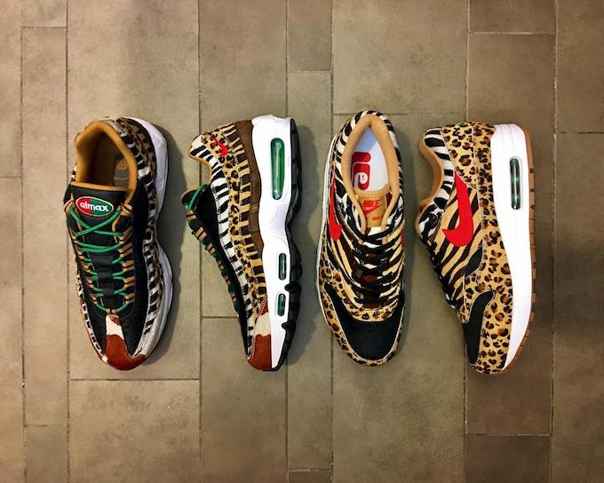 The Atmos X Nike Animal Air Max Pack Is Returning Trapped