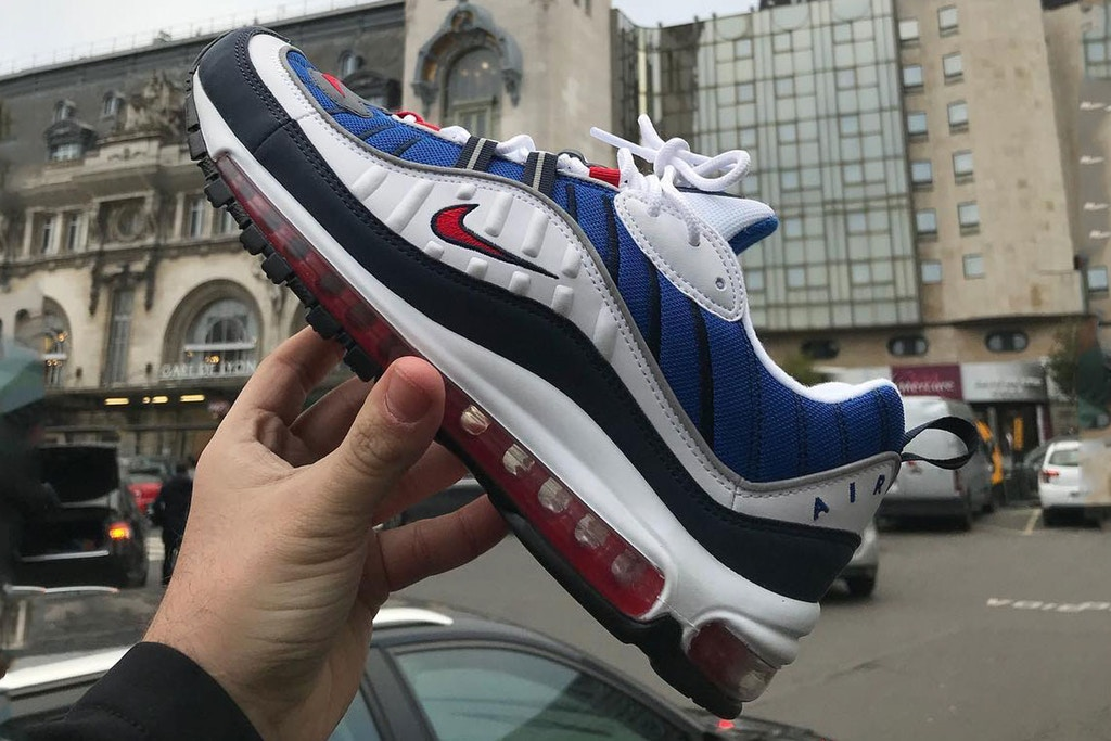 ae3b962de95b Nike Mark 20th Anniversary With Air Max 98
