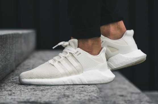 size 40 dfbc3 00a28 Adidas EQT 9317 Off White – Many people have adopted the mantra boost is  life in recent years which is why its strange to see this clean pair of  EQTs ...