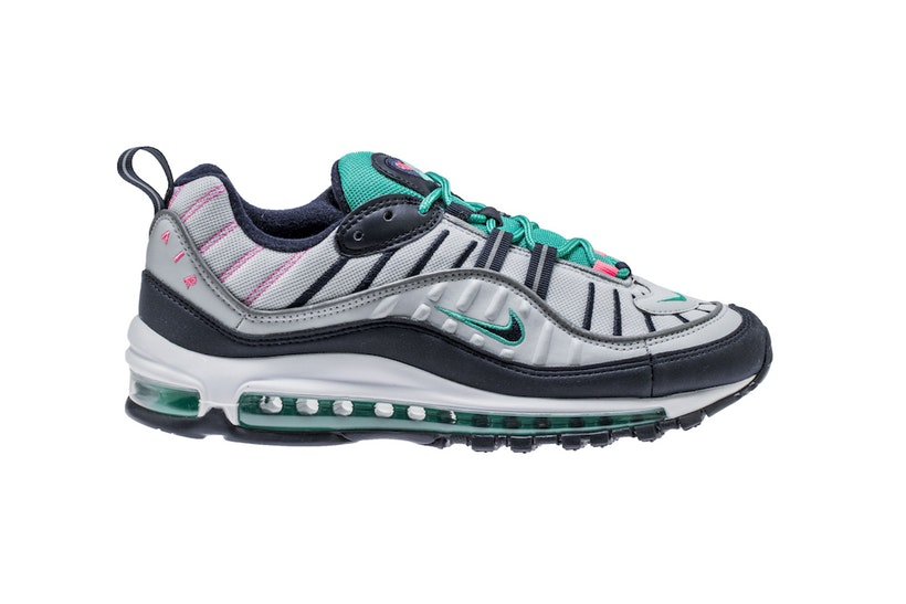 innovative design 5d06a 78e48 The Air Max 97 & 98 Are Going To South Beach - Trapped Magazine