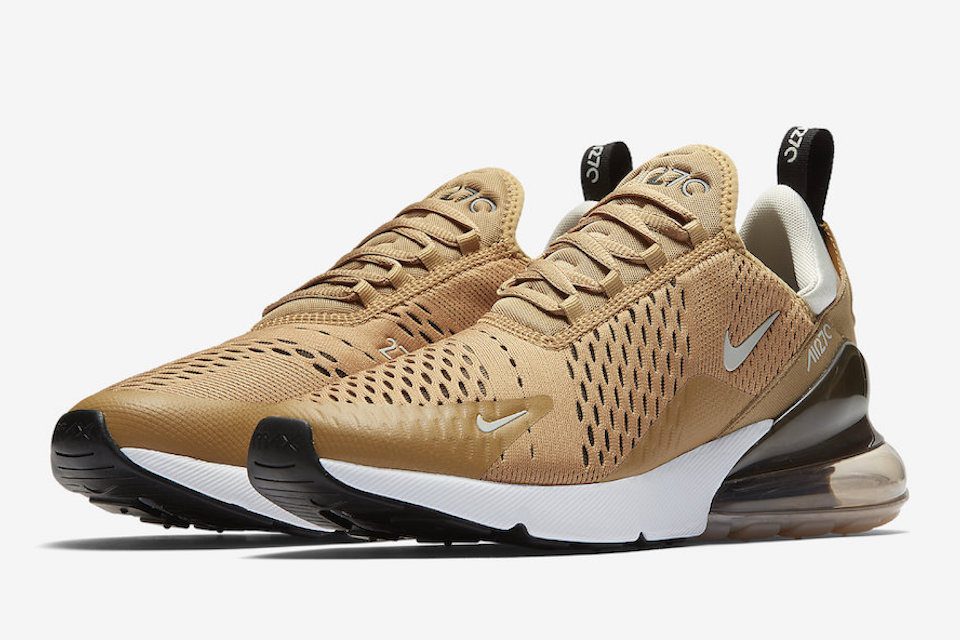 abca4fad501c36 Nike Dips The Air Max 270 In Elemental Gold - Trapped Magazine