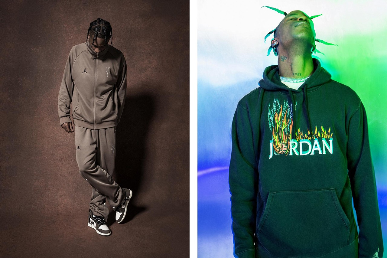 5eefd3ccb2f Travis Scott's Air Jordan 1 Gets Accompanying Apparel Range ...