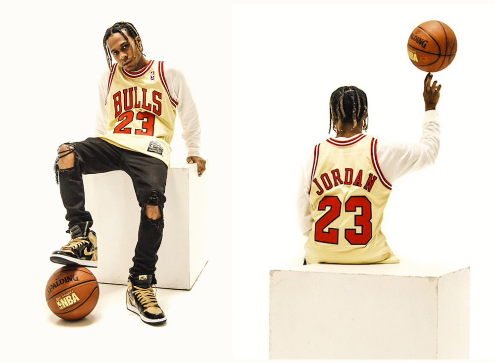 super popular 931d7 2dffe Mitchell and Ness Pay Tribute to Michael Jordan With Gold NBA Jersey